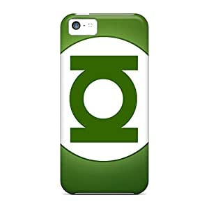 DrawsBriscoe Iphone 5c Shock Absorption Hard Cell-phone Case Allow Personal Design Trendy Green Lantern Image [UJu4102QqOX]
