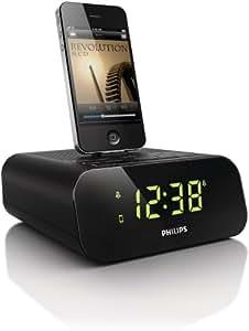 Philips AJ3270D/12 - Altavoz con puerto dock para Apple iPod/iPhone, negro