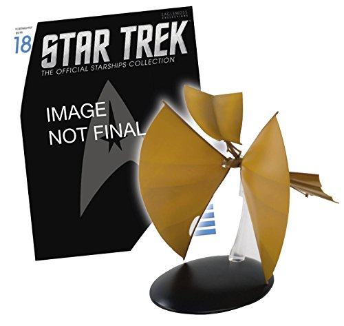 Star Trek Starships Figure & Magazine #18 Bajoran Light Ship