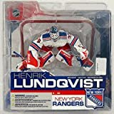 henrik lundqvist action figure - Mcfarlane Toys NHL Sports Picks Series 13 Action Figure Henrik Lundqvist (New York Rangers) Variant White Rangers