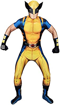 Morphsuits - Disfraz Wolverine, Multicolor (delux digital), talla ...
