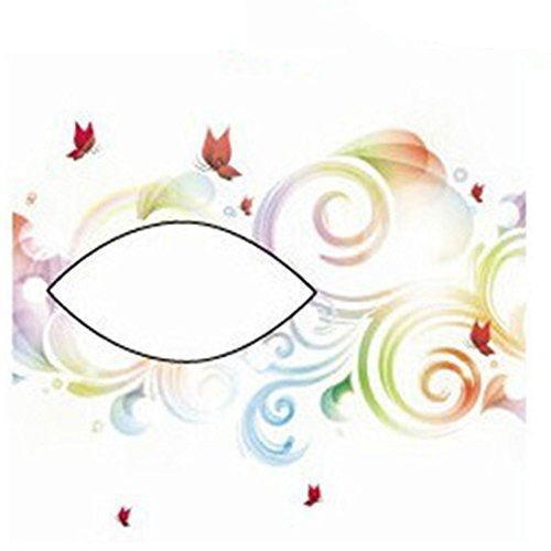 Price comparison product image Euone® Halloween Party Temporary Eye Tattoo Eyeshadow Eyeliner Sticker Makeup (F)