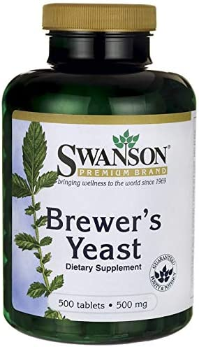 Swanson Brewer s Yeast 500 Milligrams 500 Tabs