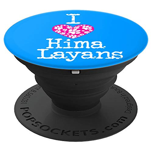 (I Heart Himalayans   Love Himalayan Cat Breeds - PopSockets Grip and Stand for Phones and Tablets)