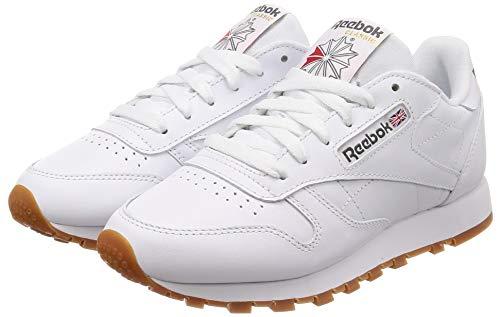 Leather hombre de 2 Classic para Blanco Reebok Zapatillas White cuero Gum 54fAqx7w