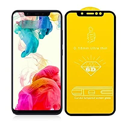 f916392ee2 HoA Xiaomi RedMi Note 6 Pro Black 6D Tempered Glass Full Screen 9H Edge to  Edge