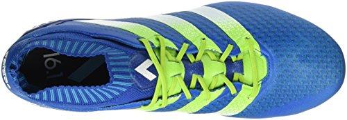 adidas Herren Ace 16.1 Primeknit FG/AG Laufschuhe Azul / Verde / Blanco (Azuimp / Seliso / Ftwbla)