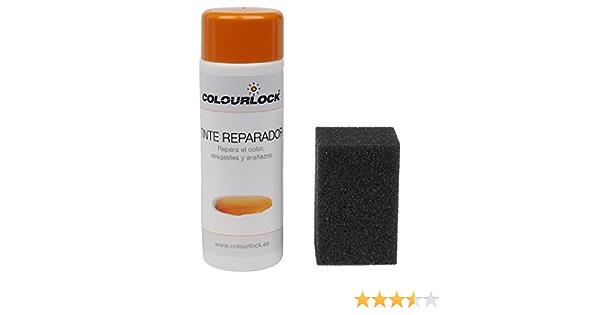 COLOURLOCK Tinte reparador Cuero/Piel F033 (Blanco), 150 ml restaura el Color del Cuero en Coches, sofás, Ropa, Bolsos