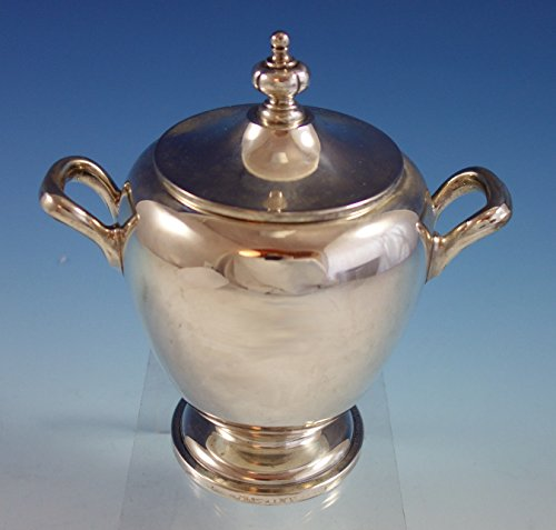 Pointed Antique by Reed Barton Dominick Haff Sterling Silver Sugar Bowl (#2619) -