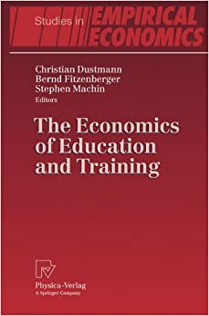 Book The Economics of Education and Training (Studies in Empirical Economics)