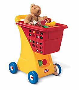 Amazon Com Little Tikes Shopping Cart Yellow Red Toys