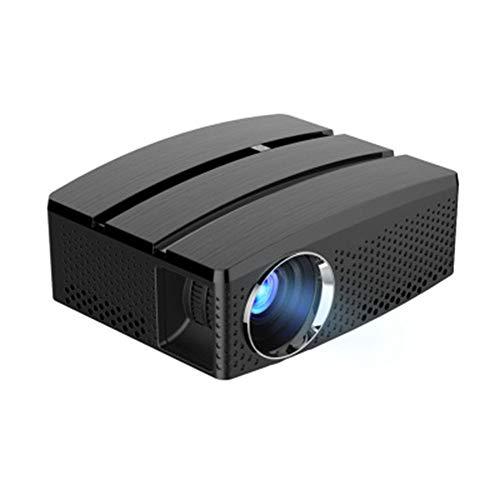 RU Projector Mini Beamer, LED 1080P HD-Projektion, WiFi Verbindung,Passend für Familie/Kino/Party