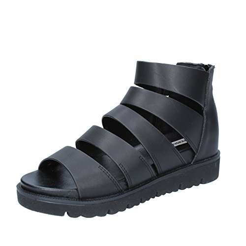 MILANO Synthetic FRANCESCO Sandals Black Womens Leather aqdS0q