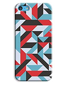 Cool Colour Pattern Case for your iPhone 5C
