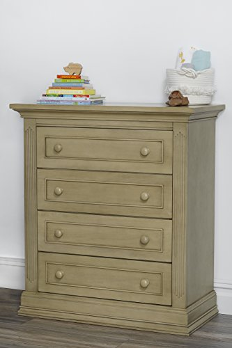 Suite Bebe Dakota 4 Drawer Chest Driftwood by Suite Bebe