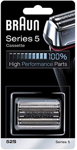 Braun Cassette 52S - Recambio para afeitadora eléctrica hombre, compatible con generación actual de Series 5 y ...