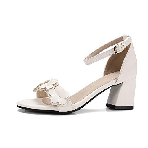 BalaMasa Ouvert Bout 5 Blanc Femme Blanc 36 77qrRz