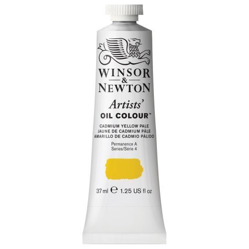 Winsor & Newton Artists Oil Color Paint Tube, 37ml, Cadmium Yellow Pale by Winsor & Newton