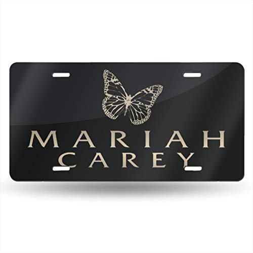 OUI-A Metal Particular Mariah Carey License Plate Car Accessories 6