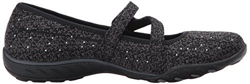 Skechers easy Women's Fashion Charmful Black Sneaker Breathe UURnWwqr