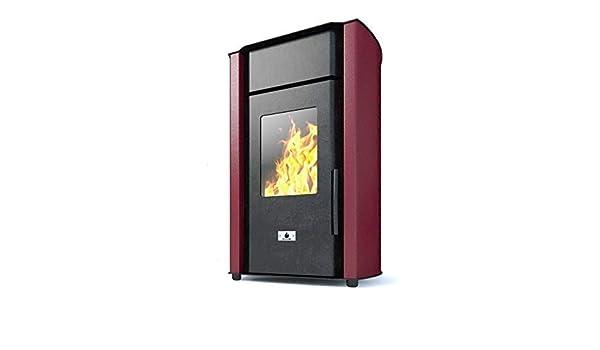 Estufa caldera de pellets Eco Spar Hydro Modelo Alba Salida de calor 18kW: Amazon.es: Bricolaje y herramientas