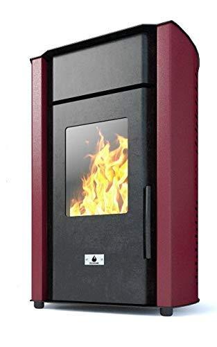 Estufa de pellets Eco Spar, modelo Alba, salida de calor 18 kW 18.00W, 230.00V: Amazon.es: Bricolaje y herramientas