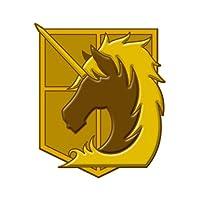 進撃の巨人 蒔絵シール 憲兵団の商品画像