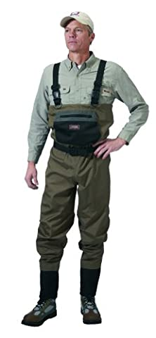 Caddis Men's Taupe Affordable Breathable Stocking Foot Wader, X-Large Long