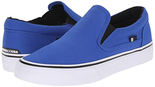 DC Shoes Men's Trase Slip-On TX Low Top Sneakers Azul