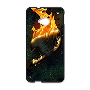 HTC One M7 case , Fairy Tail Cell phone case Black for HTC One M7 - LLKK0768798