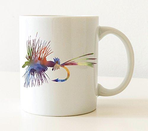 Fly Fishing Mug - Fly Fishing Lover Coffee Mug - 11 oz - Unique Fly Fishing Gifts
