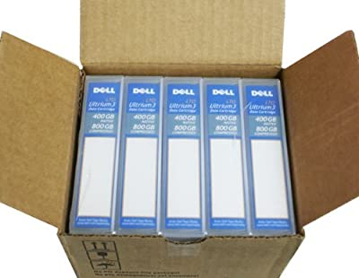 5 Pack 5-Lot Genuine OEM RC922 Dell LTO Ultrium 3 400GB (Native)/ 800GB (Compressed) WORM Write Once Read Many Blank Data Media Magnetic Tape Cartridge Dell Part Number: 0HC593 from Dell Computer Corp.