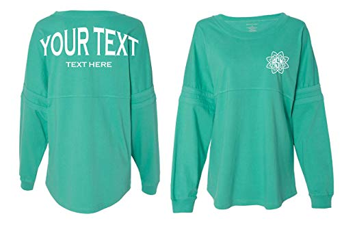 Custom Monogram Pom Pom Jersey Shirt | Boxercraft Monogram Spirit Jersey Shirt | Free Decal]()