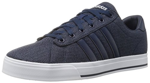 adidas Performance Men's Daily Fashion Sneaker, Collegiate Navy/Collegiate Navy/White, 11 M US - Adidas Casual Shoes