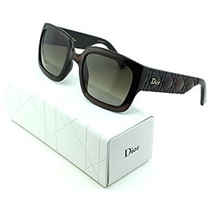 Dior Mydior/1N Square Women Sunglasses (Brown Frame, Brown Gradient Lens (0DUS))