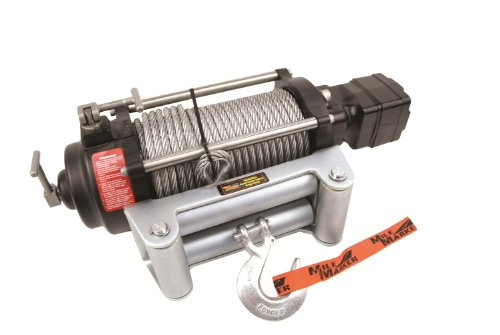 - Mile Marker H-Series Hydraulic Winch - 9000-Lb. Capacity, 12 Volt DC, Model# H9000