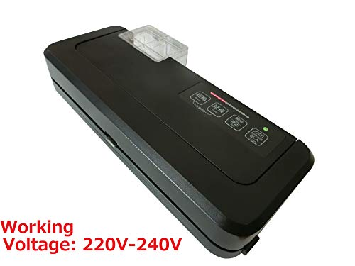 Works with Ziploc! & Vacuum chamber pouches! FOOD SHIELD reduces your running costs by up to 90%. It can even pack liquids and powders. Next Generation Vacuum Sealer. (Main product 220V (Flagship model))