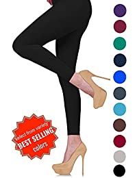 Lush Moda Extra Soft Leggings - Variety of Colors - M...