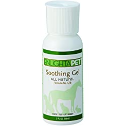 Dog, Horse & Cat Skin Soothing Gel | Homeopathic Treatment for Hotspots, Rashes & Sores | All Natural Pet Wound & Lesion Care | Provides Relief for Itching, Discomfort & Pain | EnlightAPet by Jadience