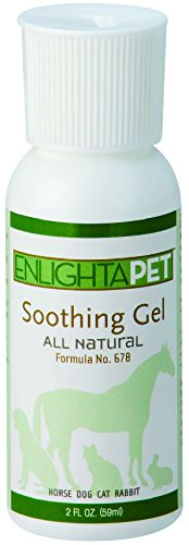 JADIENCE Dog, Horse & Cat Skin Soothing Gel: Homeopathic Treatment for Hotspots, Rashes & Sores | All Natural Pet Wound & Lesion Care | Provides Relief for Itching, Discomfort & Pain | EnlightAPet