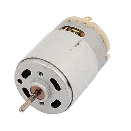 eDealMax DC12V 6000rpm micro de alta velocidad del motor de vibración para Mini Secador de pelo - - Amazon.com