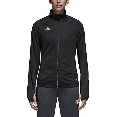 adidas Womens Tiro 17 Training Jacket Black/White S