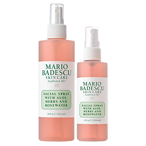 Mario Badescu Facial Spray With Aloe Herbs And Rosewater Duo