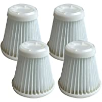 4 Replacement for Black & Decker PVF100 Filter Fis PHV100 Pivot Vac, Compatible With Part # 514723900, By Think Crucial