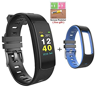 DMMDHR Smart Fitness Bracelet Heart Rate Monitor Wristband Sports IP67 Waterproof Smart Band Fitness Tracker Estimated Price £84.00 -