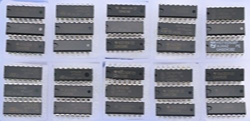 30PCS Types 4000 Series CMOS Logic IC Assortment Kit.