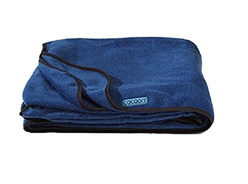 Cocoon Fleece Couverture bleu nuit coussin B001DX81EU