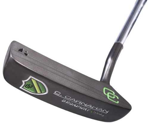 Milled Putters (C. Carnahan Golf Broadway Milled Face Putter, Right Hand, 34-Inch)