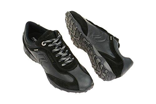 hombre Para Calzado Negro modelo Calzado color marca D ABX negro Hombre Negro GEOX GEOX Deportivo deportivo B FRECCIA para vvnqr04E