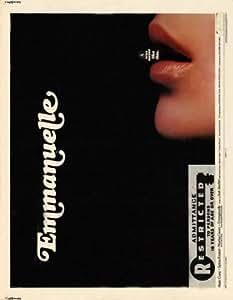 Emmanuelle Poster Movie 11 x 14 In - 28cm x 36cm Sylvia Kristel Alain Cuny Marika Green Daniel Sarky